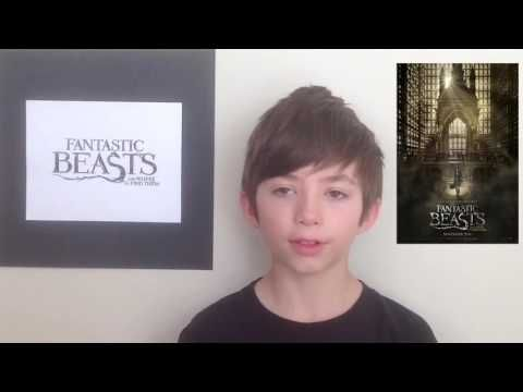 Film Review: Fantastic Beasts and Where to Find Them by KIDS FIRST! Film Critic Nathaniel B. #KIDSFIRST! #FantasticBeastsandWhereToFindThem