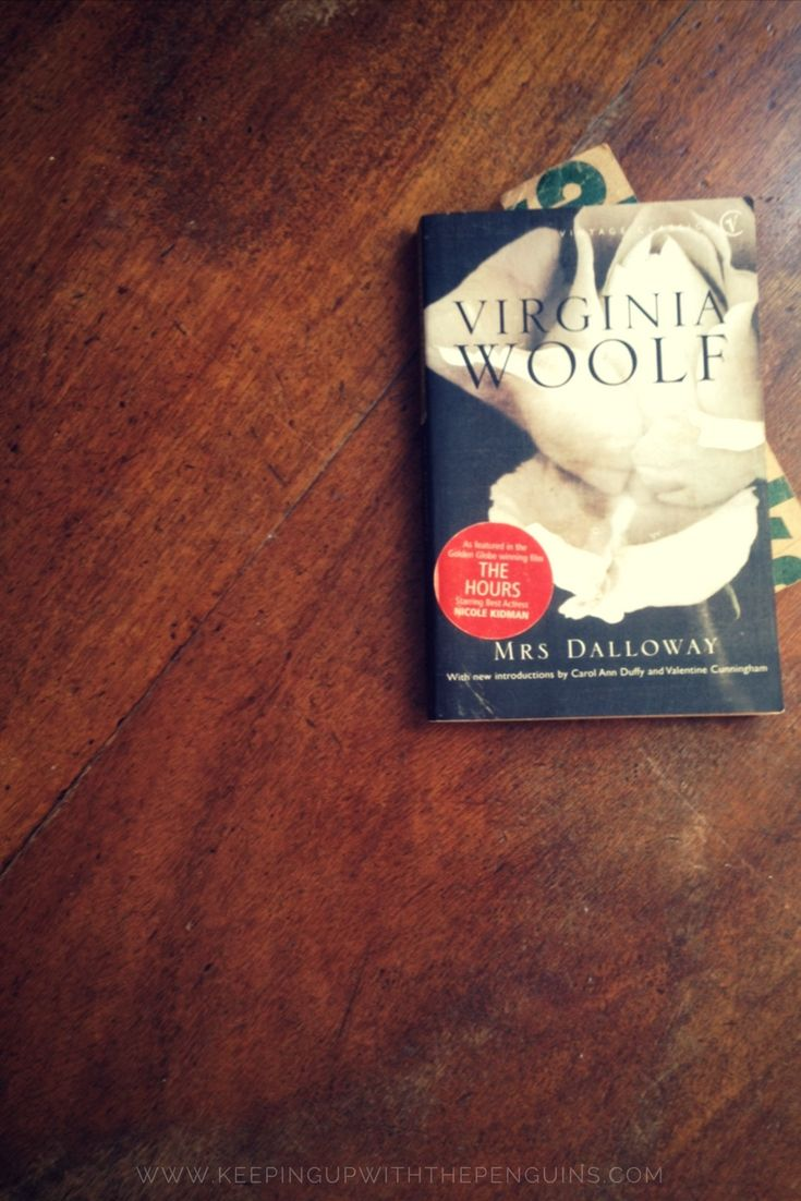 "Having read the two introductions (two! plus a foreword!), going in I knew I could safely assume that (1) Virginia Woolf was brilliant, (2) Virginia Woolf was bonkers, and (3) Mrs Dalloway going to be a really heavy read. It's a ""stream of consciousness"" suitable for white water rafting... #mrsdalloway #bookreview #virginiawoolf"