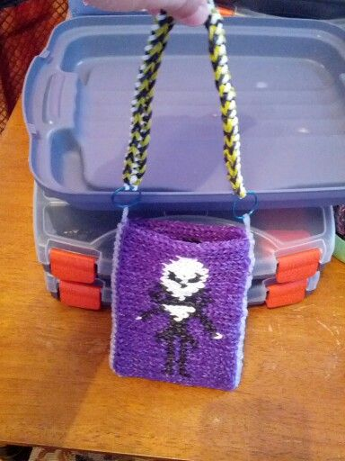 minisRainbow Loom Mini Purse Craft Life