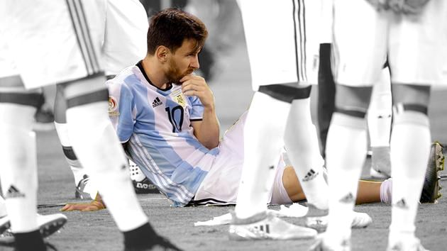 Lionel Messi announces international retirement after loss to chile  #Messi #CopaAmerica #ARGvCHI #Predict  pgur.in