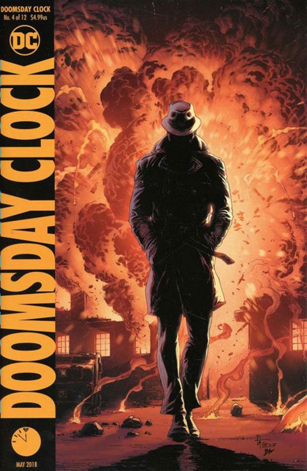 Doomsday Clock Complete Cover Checklist Doomsday Clock