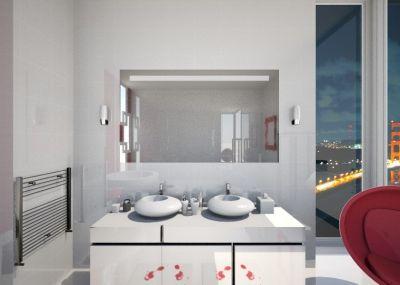 Elegant Auf der Suche nach einem passenden Badspiegel mit Beleuchtung Hier bekommst du hochglanzpolierte und nach Ma produzierte Badspiegel g nstig