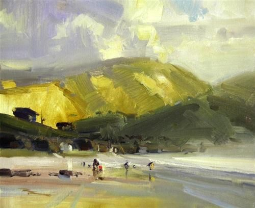 Jackson Point - Original Fine Art for Sale - © Richard Robinson