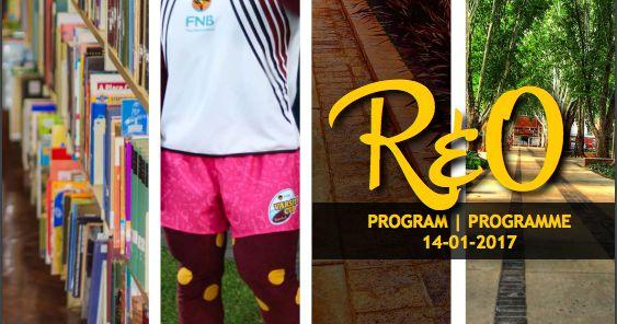 Hier is die eerste dag van #MyNWU se R & O program van 14 Januarie 2017!