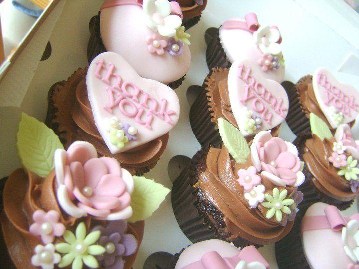 Mel's Gorgeous Thank you Cupcakes