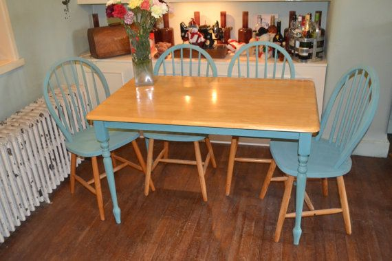 pine farmhouse kitchen shabby chic table by carbonmakesastar2014