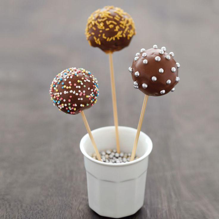 Découvrez la recette des cake pops au Nutella