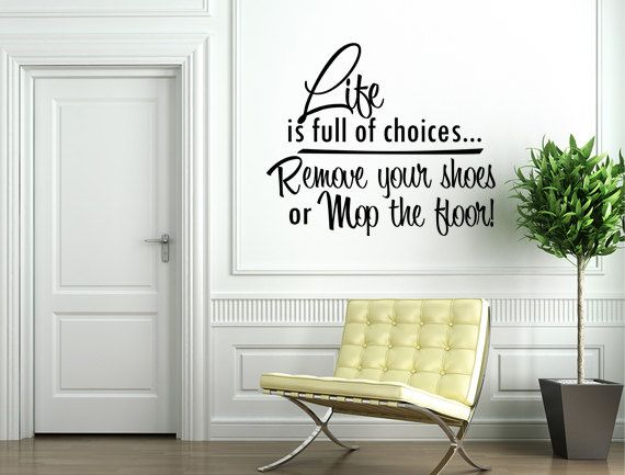 Best Our Etsy Shop  Inspirational Wall Signs Images On Pinterest - Custom vinyl wall decals cheap   how to remove