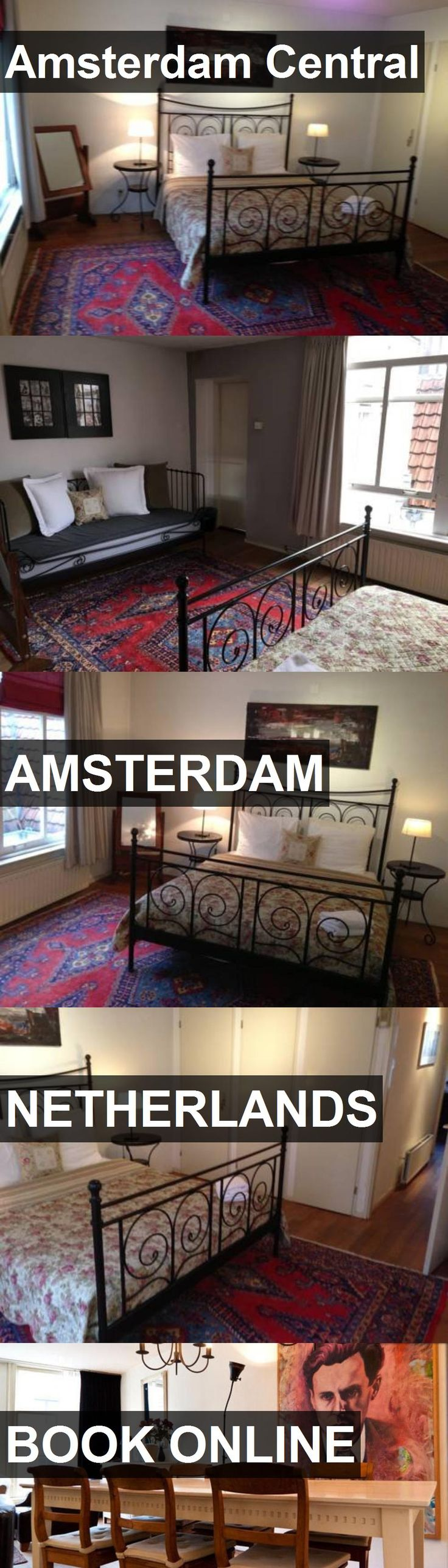 Hotel Amsterdam Central in Amsterdam, Netherlands. For more information, photos, reviews and best prices please follow the link. #Netherlands #Amsterdam #travel #vacation #hotel
