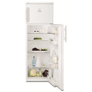 ELECTROLUX - EJ2803AOW _ Réfrigérateur 2 portes - Réfrigérateur : 215 L - Dégivrage automatique - Froid brassé FreeStore - Clayettes verre. Congélateur : 50 L.