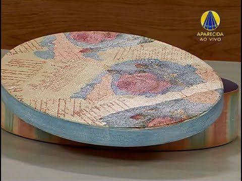 Sabor de Vida | Caixa Decorada, Pintura e Carimbo por Virgínia Beletato ...