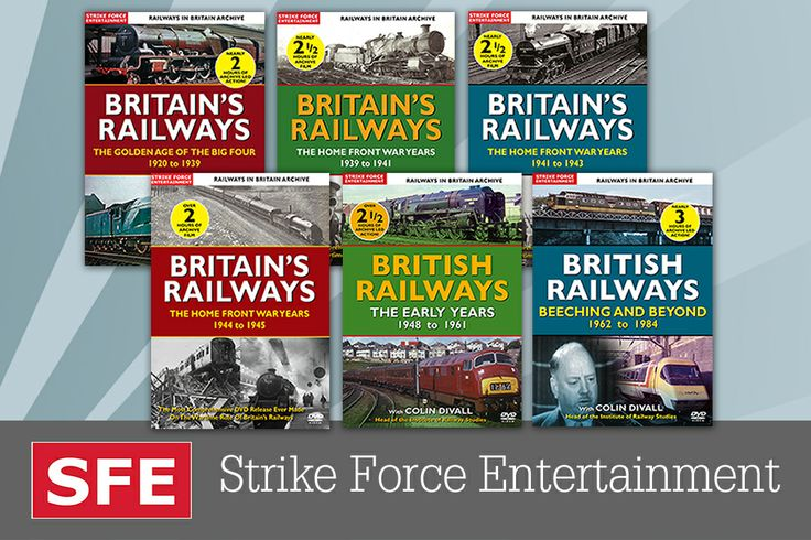 The collection of the Britain's Railways: The Home Front Years!