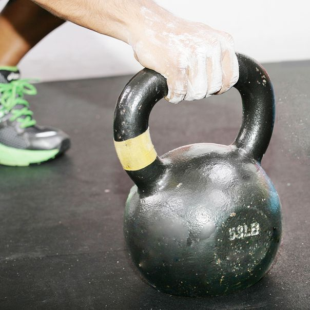 In the Gym With Lorna Kleidman, World Kettlebell Champion