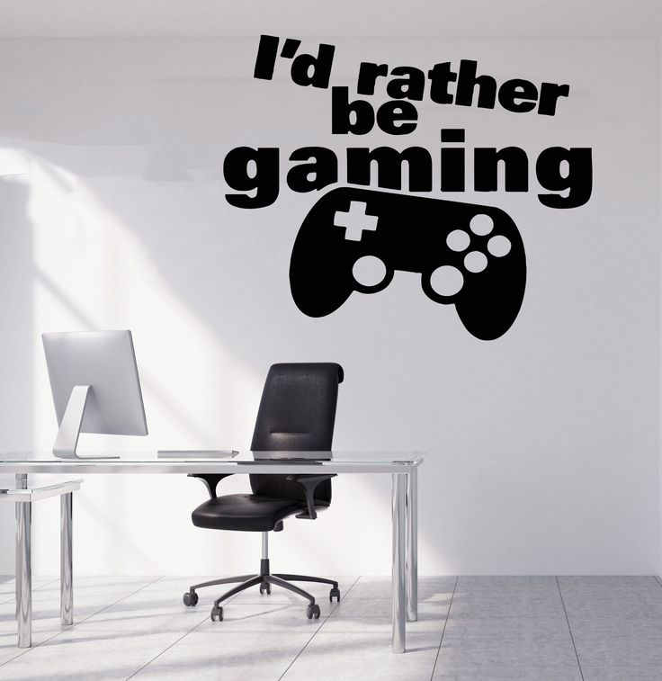 Gamer Wall Decal Gamer Decals Controller Decals Personalized Gamer Room 3081