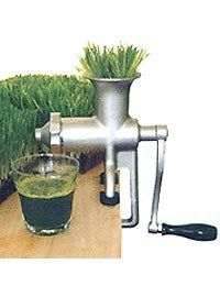 Miracle Exclusives - MJ445 Stainless Steel Manual Wheatgrass Juicer