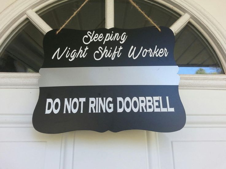 Door Hanger- Corrections Officer - Night Shift Worker- Do not ring doorbell-Sleeping Sign - Law Enforcement-Thin Silver Line- Thin Gray Line by GeoDreams on Etsy