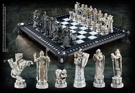 The Lord of the Rings Chess Set at noblecollection.com