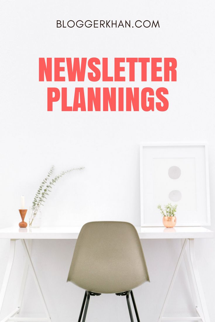 A newsletter is an opportunity, an opportunity to attract attention, make an impression on your audience and lead them to take a desired action. It deserves to be paid attention to, to be planned well, to be executed well, the results to be monitored and the process fine tuned.  Click on the following link to learn more about it: http://bloggerkhan.com/planning-for-a-newsletter-best-practices/18458?utm_campaign=crowdfire&utm_content=crowdfire&utm_medium=social&utm_source=pinterest