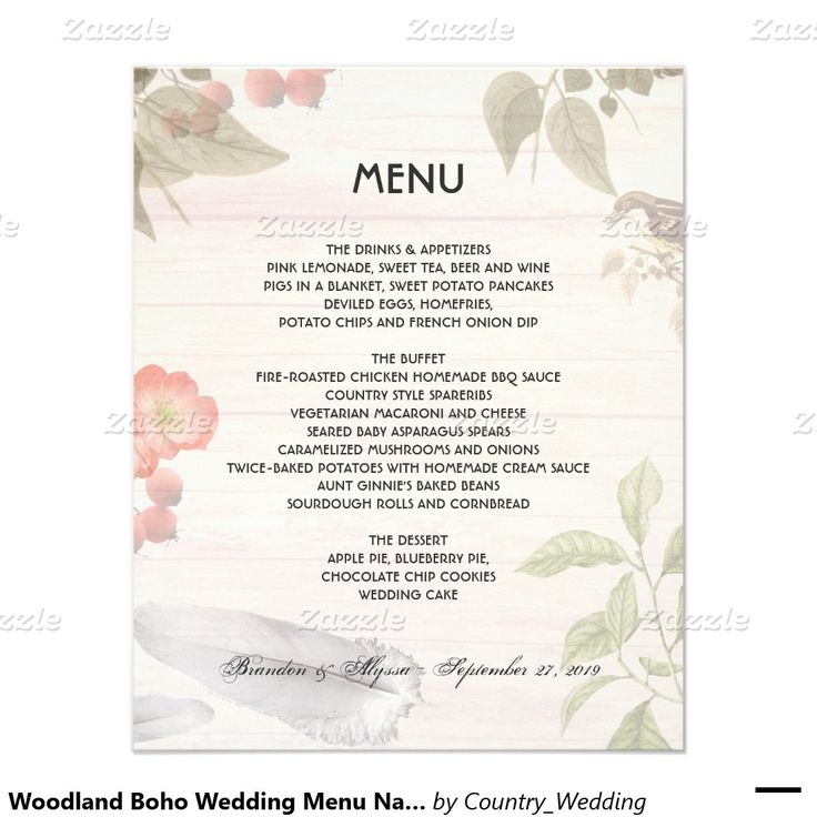 Best Custom Menu Templates Images On   Menu Templates