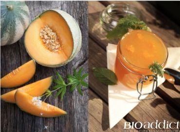 """Halte aux confitures industrielles ! Voici une recette facile pour préparer une délicieuse confiture estivale de melon bio """"maison"""" !"""