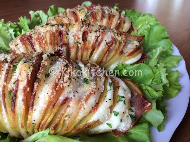 ricetta patate ripiene al forno