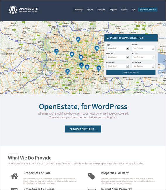 55+ Best Real Estate WordPress Themes