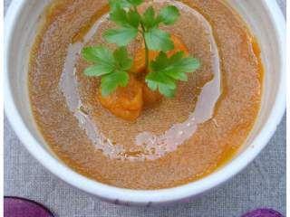 Zuppa di amaranto al curry