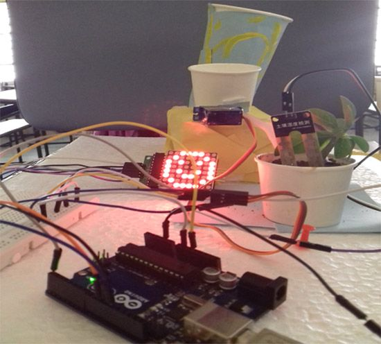 Arduino based automatic plant watering and happiness monitoring system for your garden. Now make your own DIY automatic irrigation system for your plants