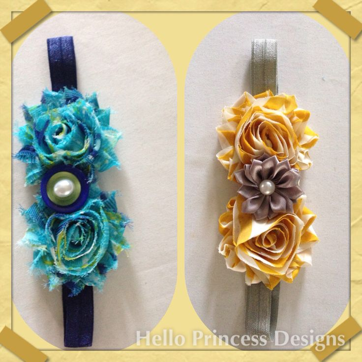 Pretty Pattern Hairbands