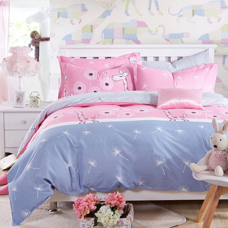 bedding set 5 size Green Spirit bedding set duvet cover set Korean bed sheet +duvet cover +pillowcase pink bed cover bed linen Like if you are Excited! Get it here