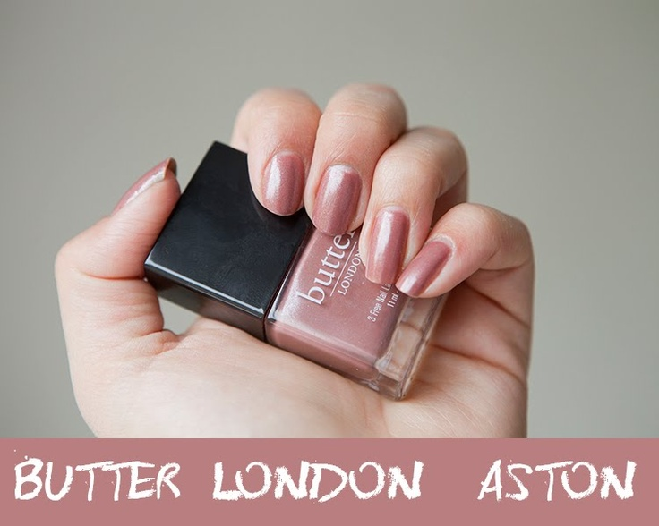 Super Gorgeous: Nails of the Day - Butter London Aston