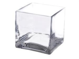 6-Pieces-4-Glass-Block-Vase-CENTERPIECES-WEDDING-DECORATIONS-WHOLESALE-VASES