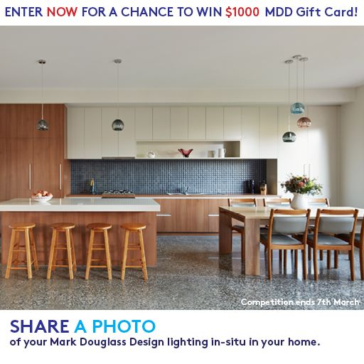 ENTER TO WIN $1000 MDD Gift Card!!! Head on to our website on how to join.  http://markdouglassdesign.com/pages/contest  #markdouglassdesign #mddcontest #handblownlighting