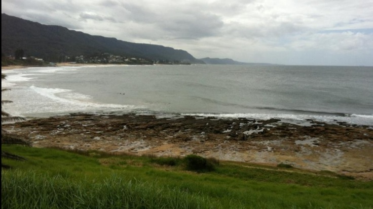 McCauleys Beach - I looked down to this beach everyday from my family home in Thirroul...