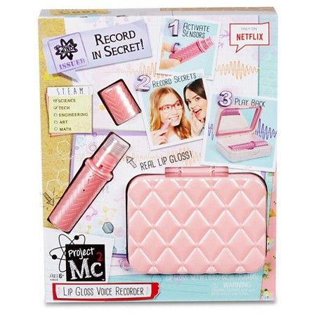 *Project Mc2 Lip Gloss Voice Recorder : Target | $18.99