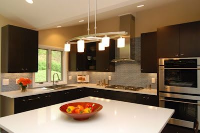 pictures of l shaped kitchens   modern minimalist L-shaped kitchen