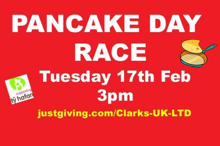 Pancake Day Race @tyhafan