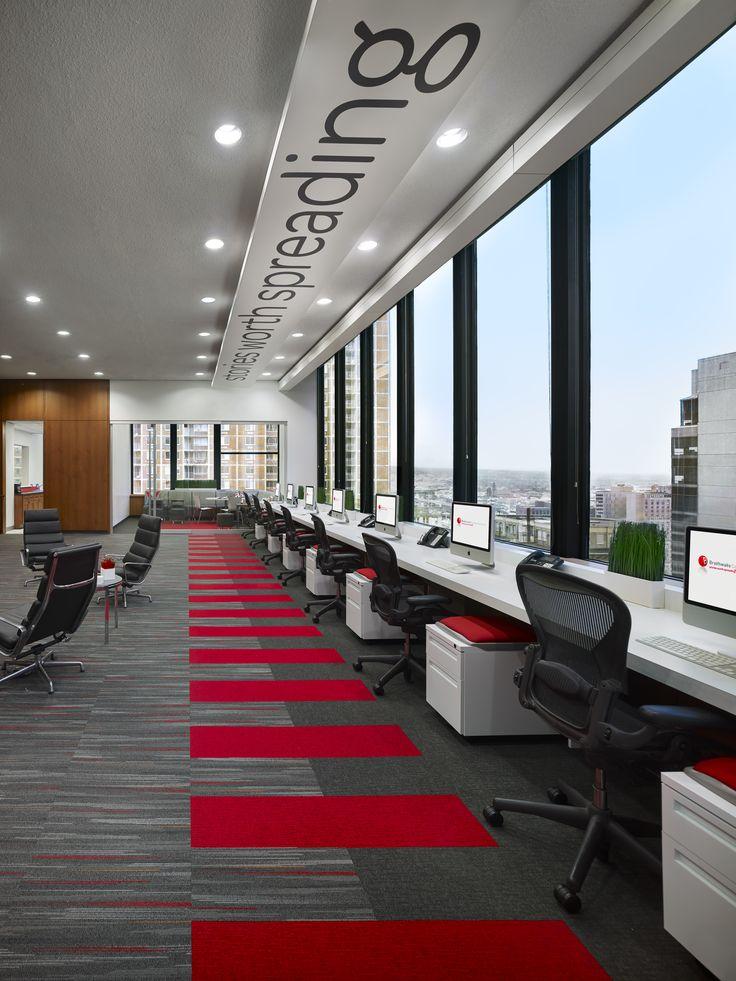 56f266ae884ec2c13d6278caeb5c5f0f office interiors red office interior