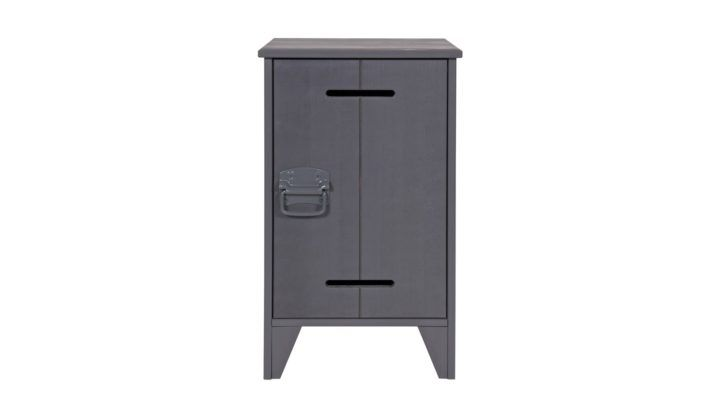Interior Design Petite Table De Chevet Table Nuit Anthracite Collection Kluis Woood Homifab Petite Chevet Petite Table De Chevet Parement Mural Table De Chevet