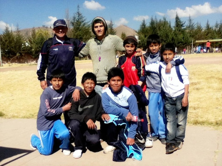 """""""Coaching soccer in Cusco was like a big adventure for me."""" Meet Andre, a Brazilian student at Faculdades Integradas Rio Branco in Sao Paulo, who served at the """"assisting at a sports center"""" project in #Cusco. #Review"""