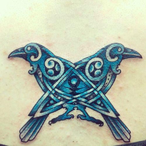 Raven Viking Tattoo: 48 Best Images About Raven Tattoo Ideas... On Pinterest