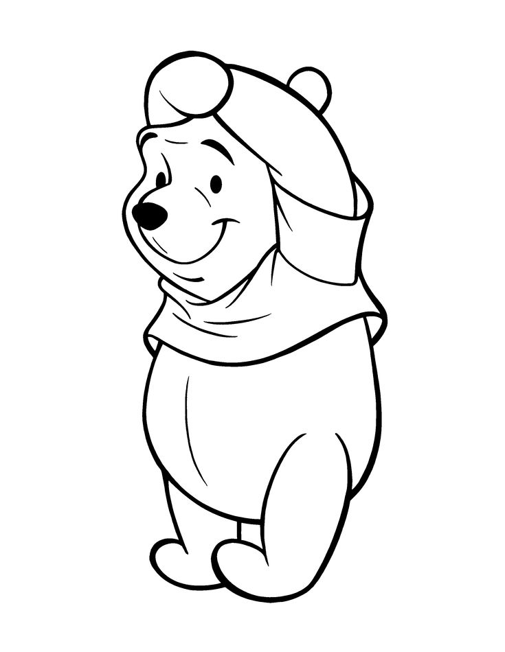 74 best pooh bear coloring pages images on pinterest | pooh bear ... - Pooh Bear Coloring Pages Birthday