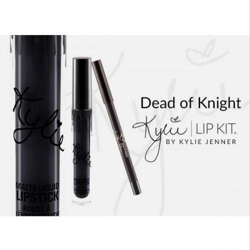 Kylie Jenner Dead of Knight Lip Kit Set | Dead of Knight | Candy K | Dolce K #KylieJennerCosmetics