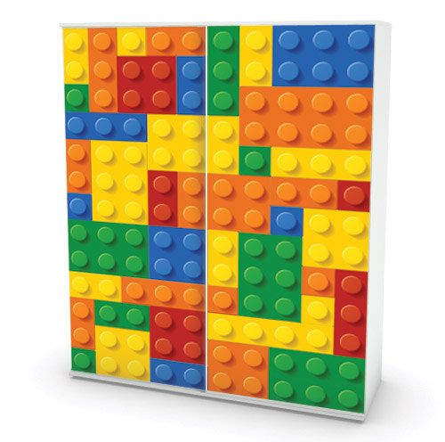 LEGO cover sticker for Ikea furniture - Adhesive Fabric on Etsy, $26.14 CAD