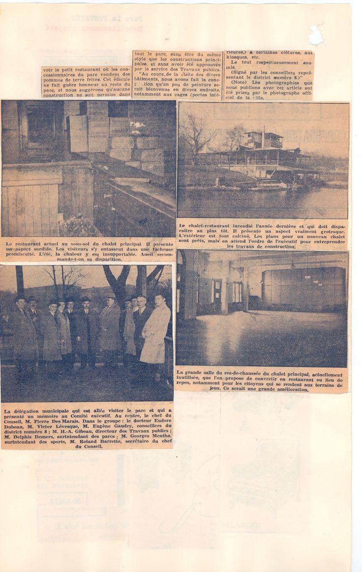 """Suite de l'article du journal """"La Patrie"""" du 19 mai 1946. SOURCE: Archives de la Ville de Montréal;  code: VM6-S10-D1901-38-A"""