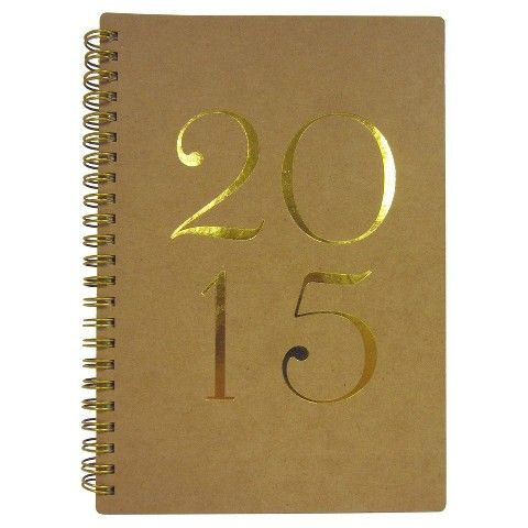 """Sugar Paper 2015 Daily Planner - 8.5""""x11"""""""