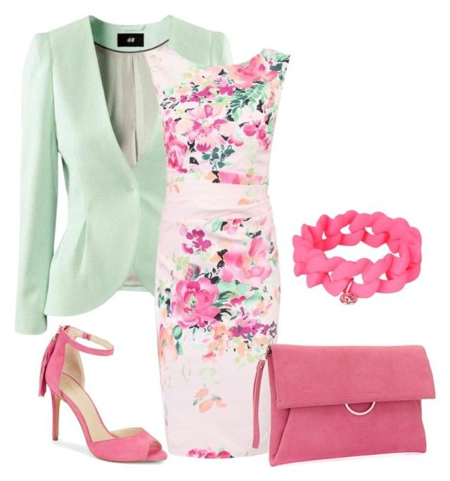 """Untitled #1"" by ritecz-gabriella on Polyvore featuring H&M, Jolie Moi, Botkier, Mint Velvet and Marc by Marc Jacobs"