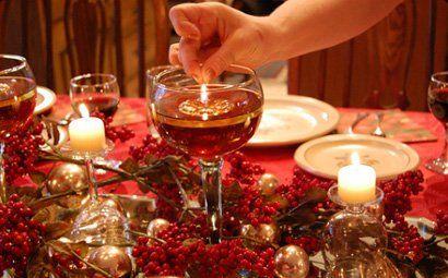 Como decorar a mesa para o Natal