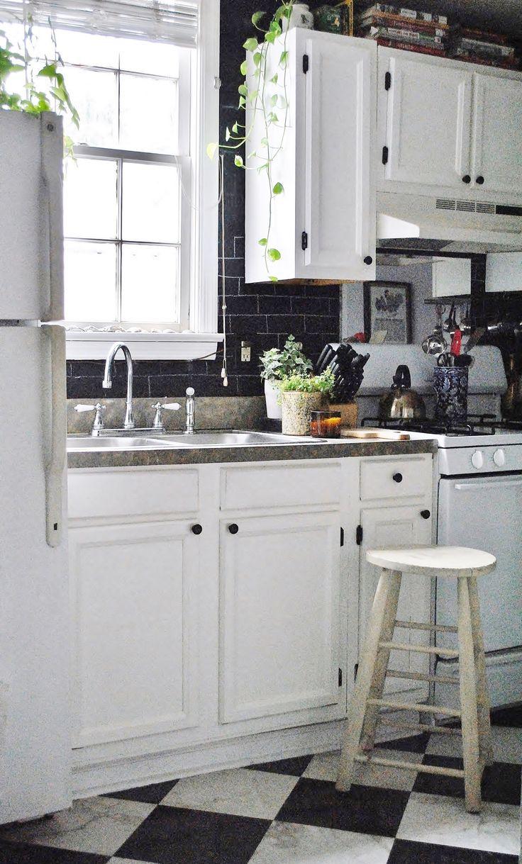 Best 25+ Rental Kitchen Makeover Ideas On Pinterest | Rental Kitchen,  Rental Makeover And Tiny Apartment Decorating