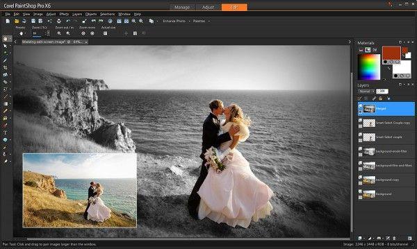 Corel PaintShop Pro X7, un potente editor de fotos para PC